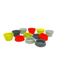 Foldable Silicone Muffin Liners