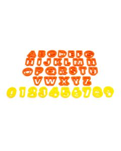 The Cookie Cutters (Numbers and Letters)