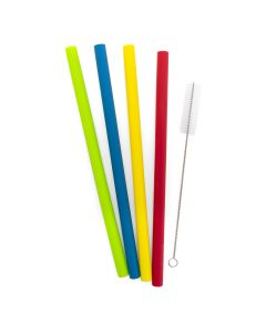 Reusable straws - set of 4