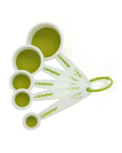 5 Piece Measuring Spoon Set - Collapsible