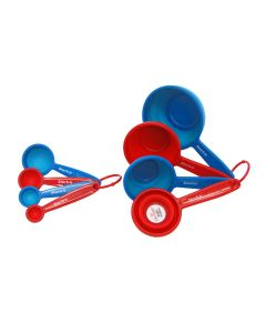 Measuring spoons and collapsible cups