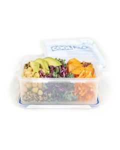 Lock&Lock Lunch 1.2L square with cooler pack